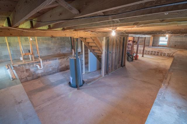 Empty basement