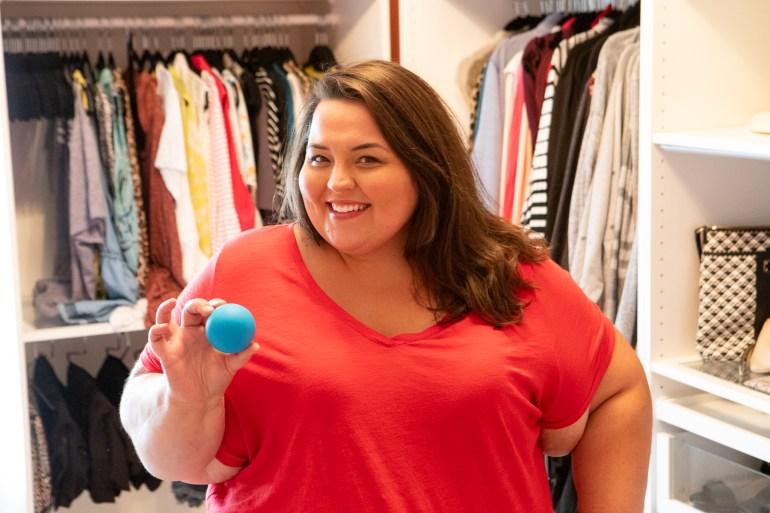 Miranda Schultz - The Plus Life Blog - Foot Massage Ball 1