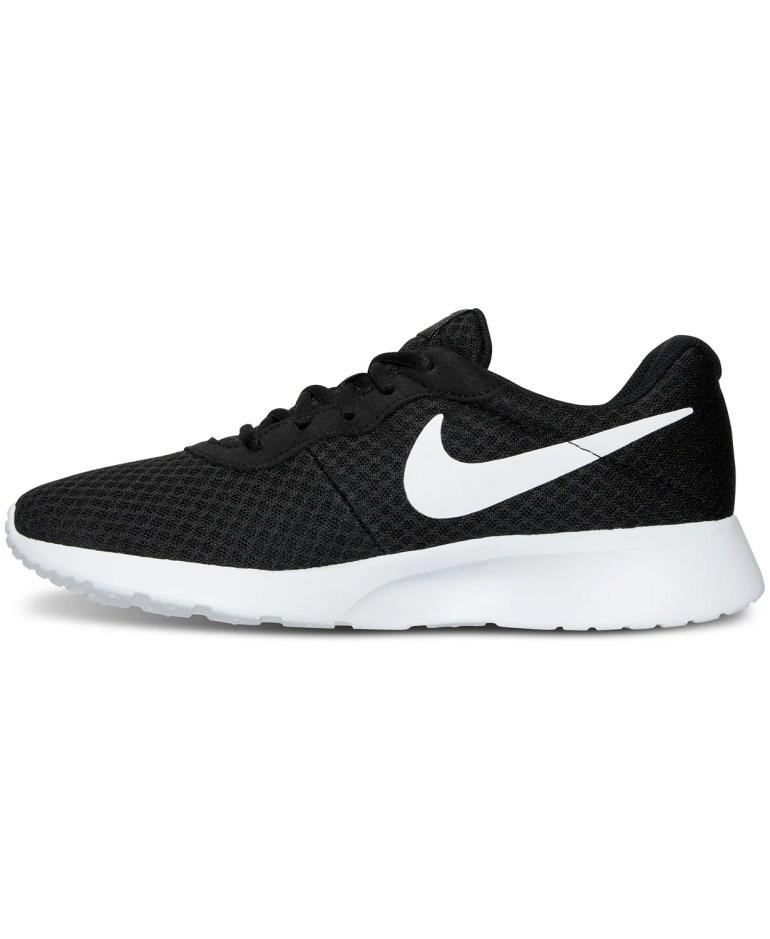 Black and White Nike Sneaker side profile