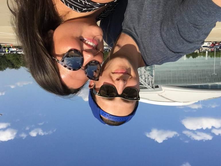 Miranda Schultz & Kevin Schultz In Dallas Texas at ATT Stadium