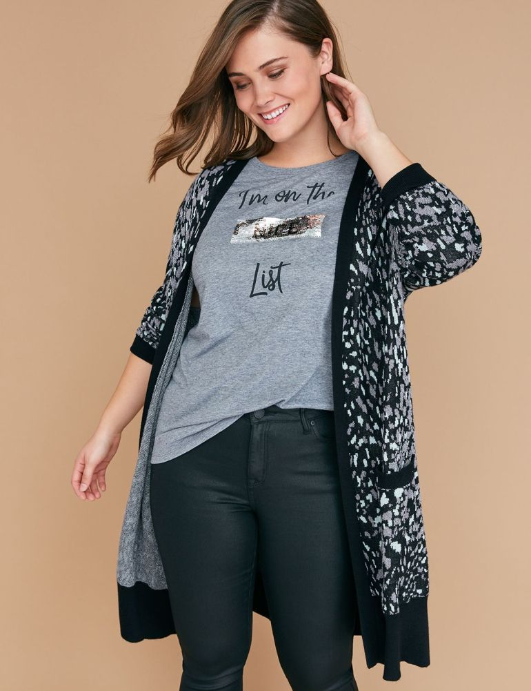 Plus Size Leopard Duster From Lane Bryant