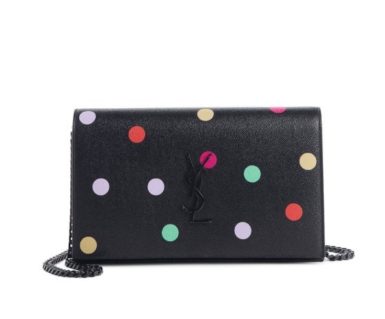 Confetti Print Leather Wallet On A Chain available at Nordstrom.com (SPLURGE!)