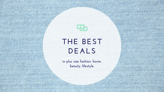The best deals in plus size fashion, home, beauty, and lifestyle