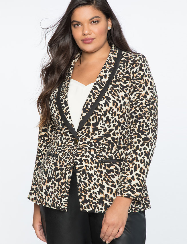 Fall 2019 Fashion Trends - Animal Print - Leopard Blazer