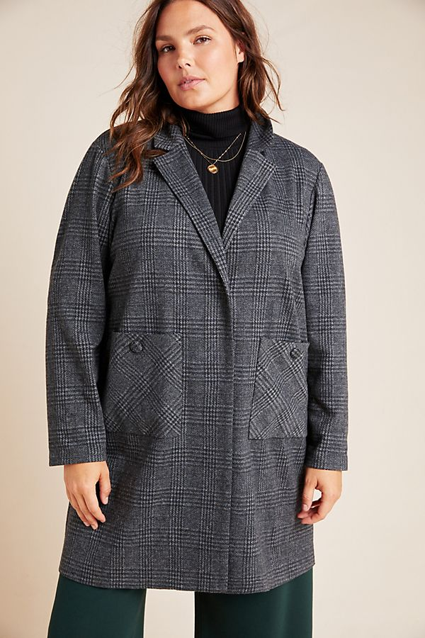 Fall 2019 Fashion Trends - Sleek Suits - Long Line Plaid Blazer