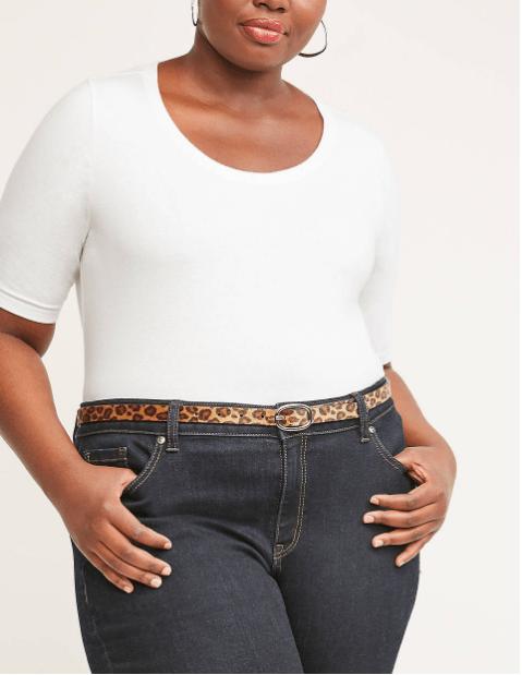 Fall 2019 Plus Size Fashion Trends - Animal Print - Leopard Print Belt
