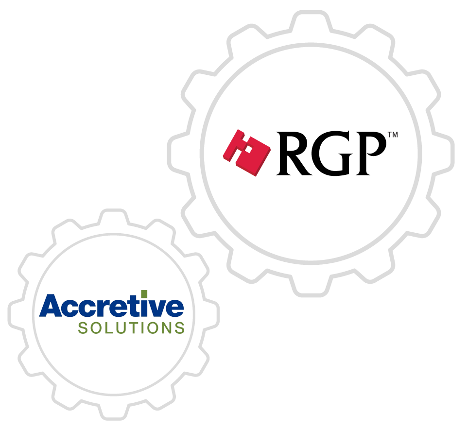 RGP came to PMG for an integration of Accretive Solutions with their company