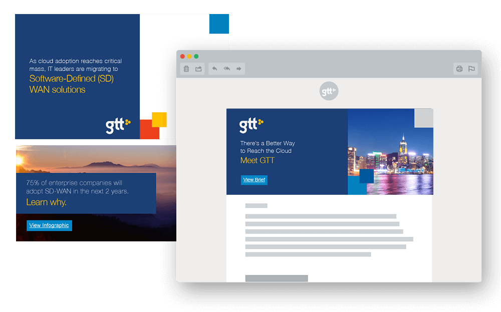 Account-based marketing campaign examples for GTT