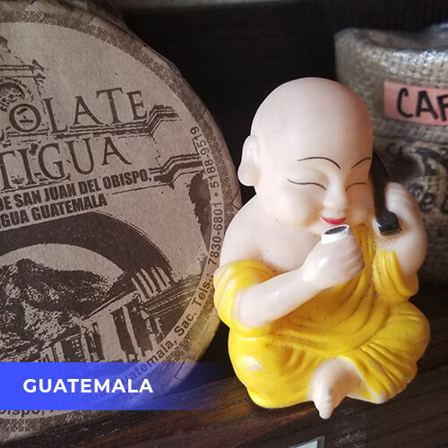 Buddha travels to Guatamala