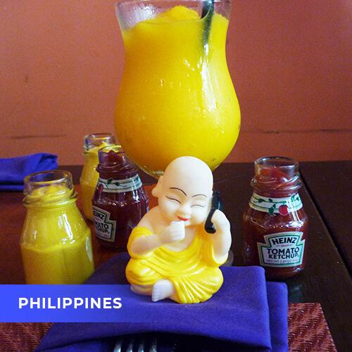 Buddha travels to Philippines