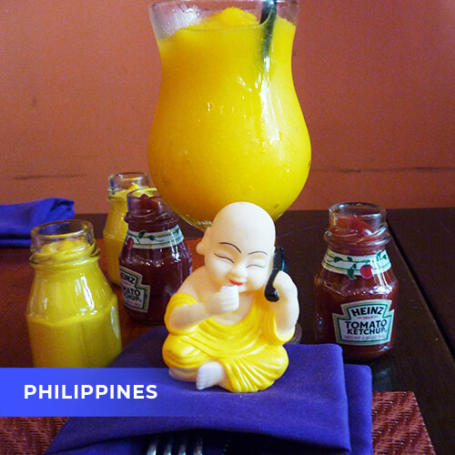 Buddha travels to Philippines