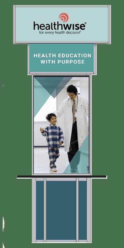 Healthwise Branding Column