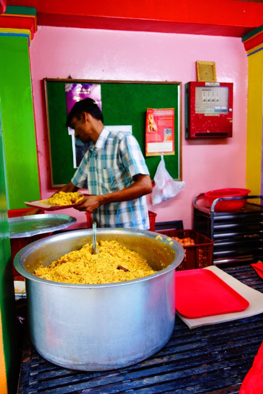 A pot of mutton rice!