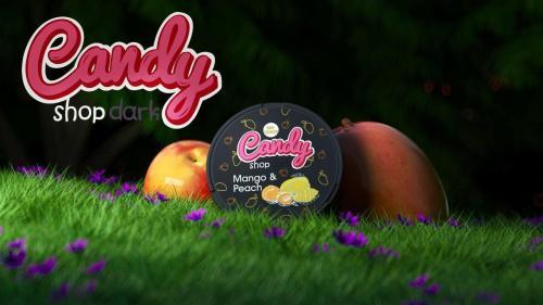 candy shop dark mango peach nicotine pouches snus nicopods the pod block