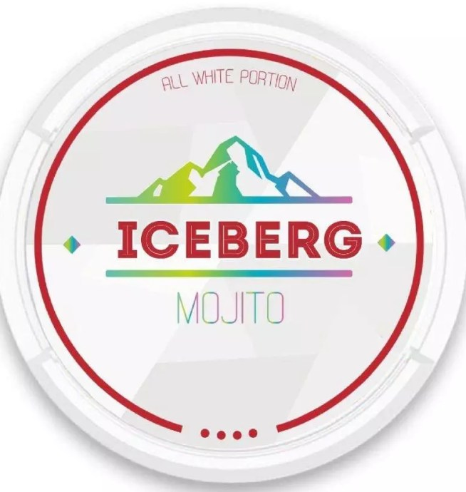 iceberg mojito nicotine pouches snus nicopods the pod block