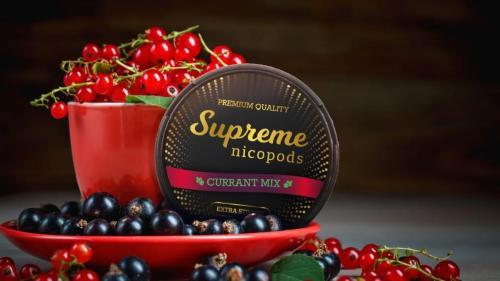 Supreme Currant Flavour Nicopod