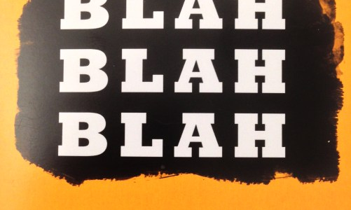 REVIEW: SARAH BARTLETT – FREUD BLAH BLAH BLAH (Rye House Press)