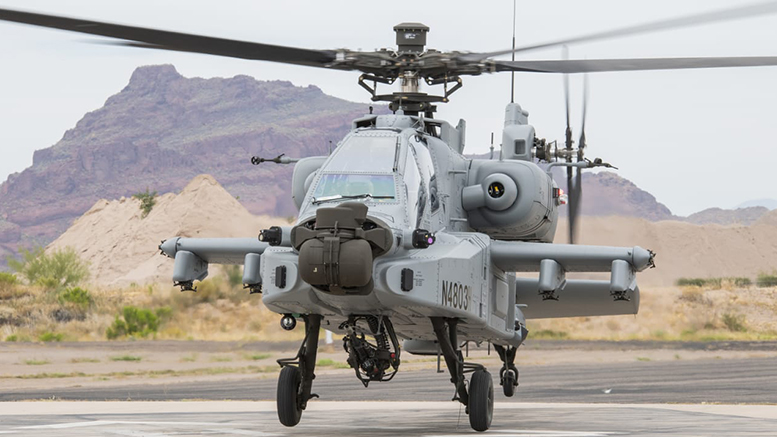 Apache Guardian helicopter