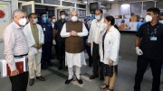 Amit Shah pays surprise visit to LNJP Hospital to review arrangements related to COVID-19
