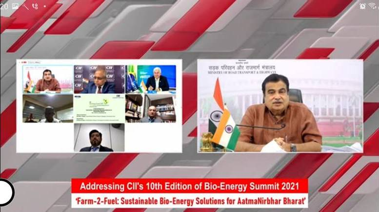 Nitin Gadkari says agriculture is our real strength supporting fuel energy security of the country