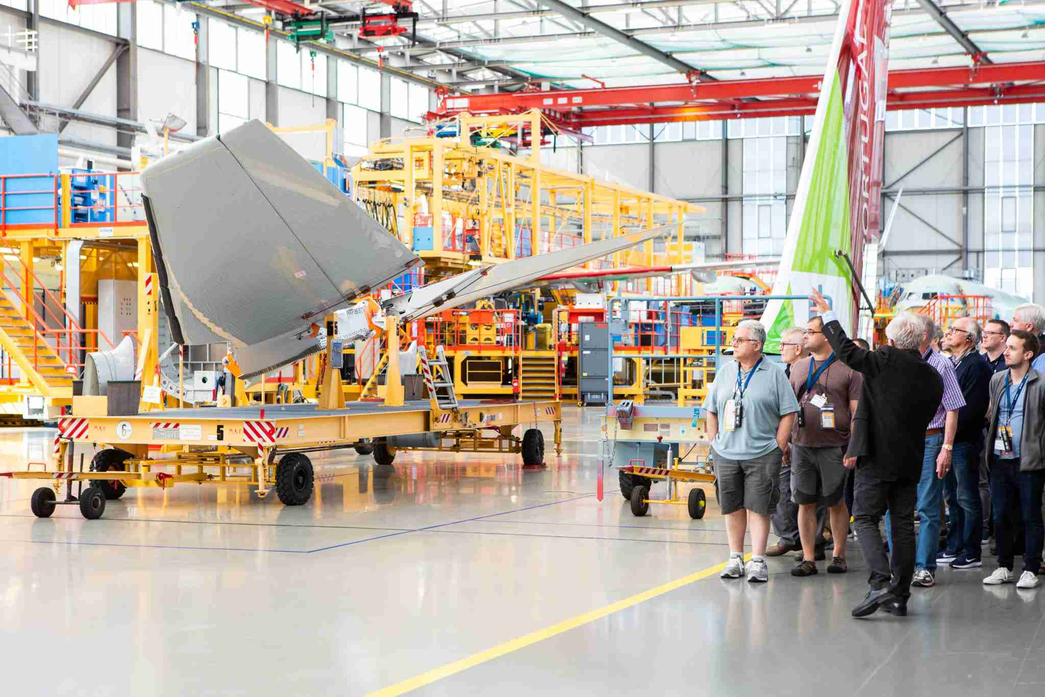 Tour of the Airbus A321 assembly line - Image courtesy of MegaDo / Airbus