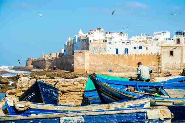Essaouira is a moroccan city, located on the Atlantic coast. (Photo by Federica Gentile/Getty Images)