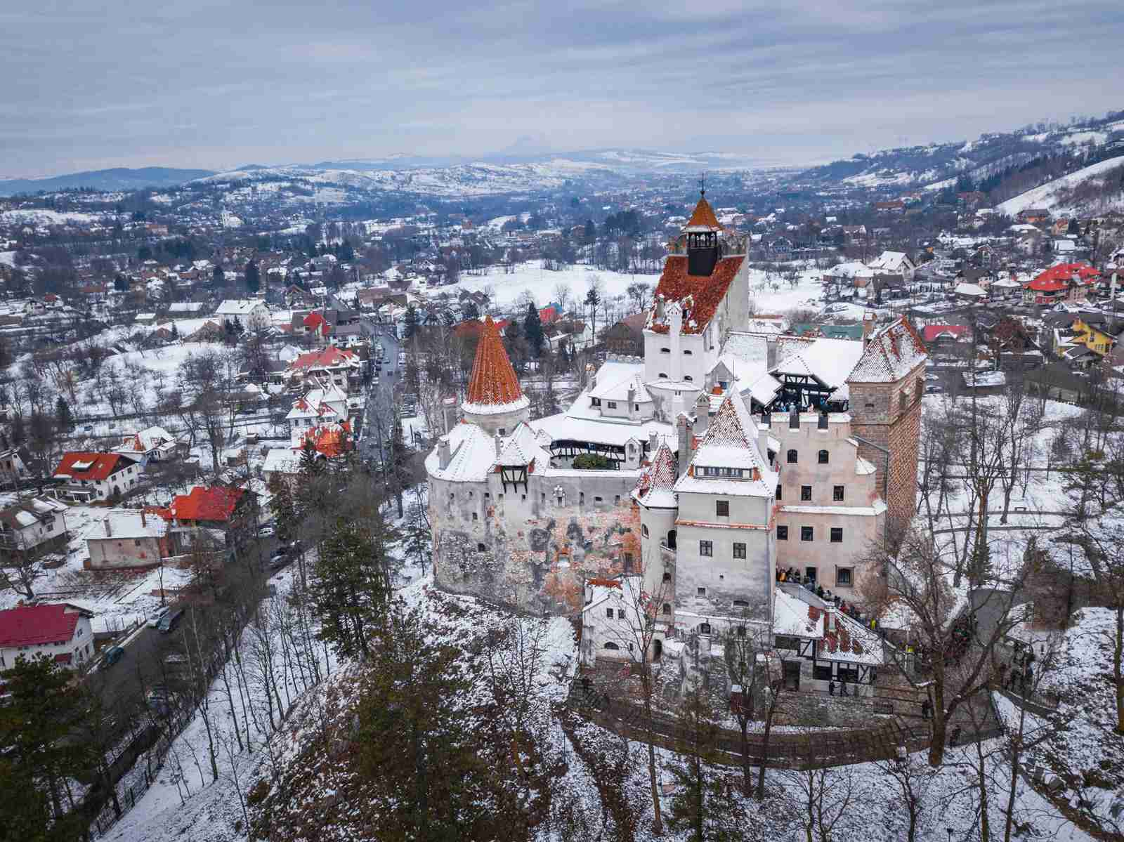 Bran Castle outside of Buchartest in Romania. (Photo by Matthew Williams Ellis/robertharding/Getty Images)