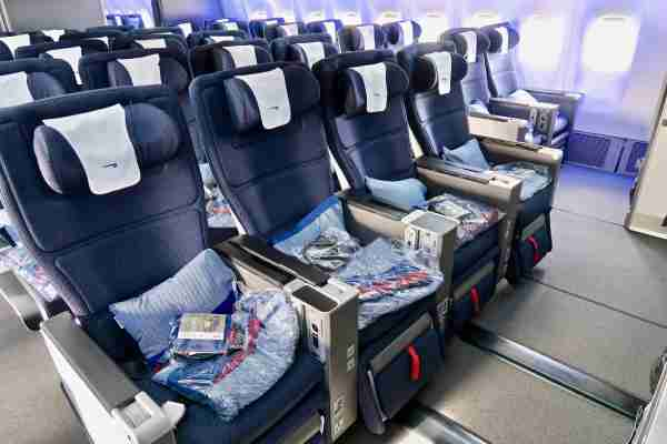 World Traveller Plus on the refurbished B777-200