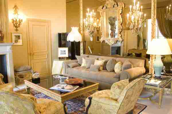 The Coco Chanel Suite at the Ritz Hotel in Paris, France. (Photo by Jacques SIERPINSKI/Gamma-Rapho/Getty Images)