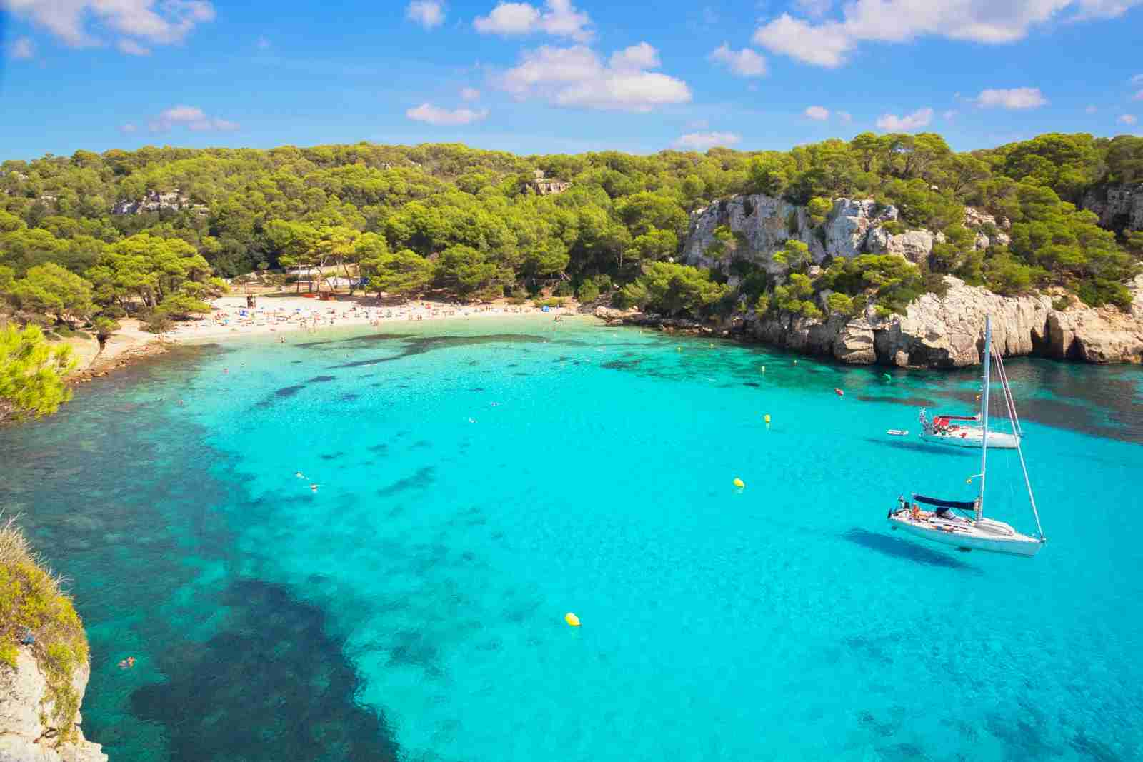 Cala Macarella. (Photo by Marco Simoni/Getty Images)