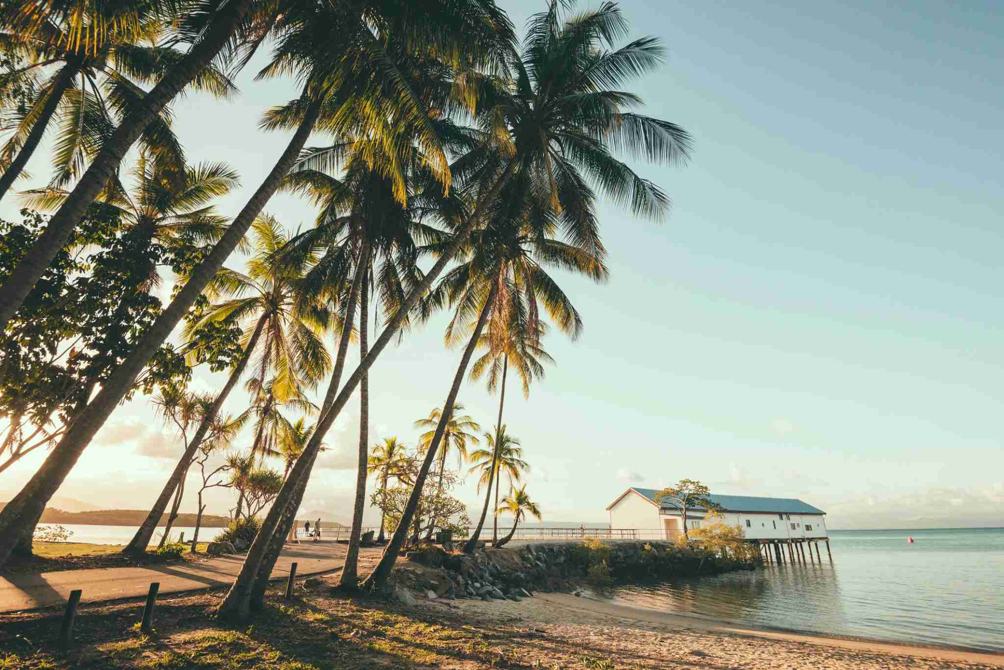 The dock at Port Douglas, Australia (Photo by John Crux Photography/Getty Images)
