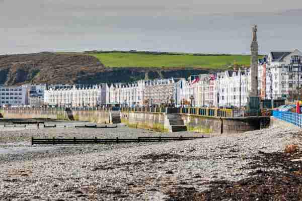 Panorama of Douglas on the Isle of Man. Douglas, Isle of Man. Photo by benkrut / Getty Images