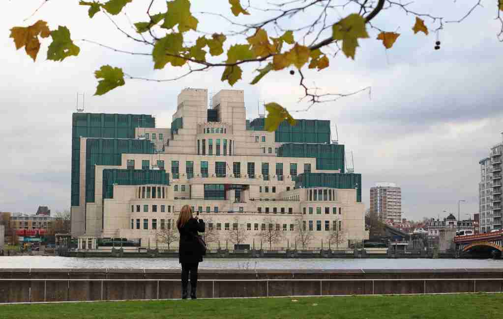 LONDON - NOVEMBER 23: A general view of MI6 on November 23, 2010 in London, England. A controlled explosion was carried out earlier today at MI6 HQ after a suspicious package was discovered close by. However, after inspection the package was deemed not to have contained any suspicious materials. (Photo by Dan Kitwood/Getty Images)