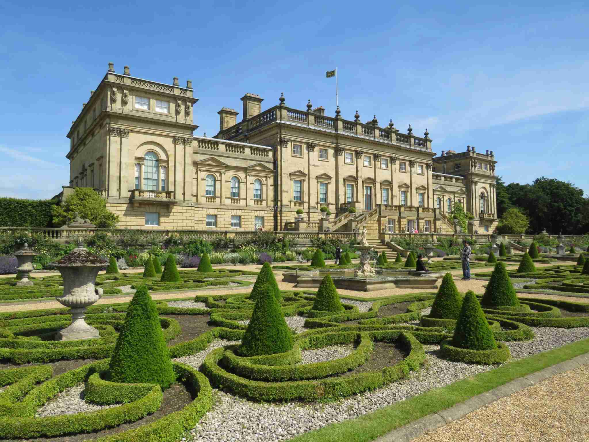 Harewood House (Photo by Russell Webb / Shutterstock)