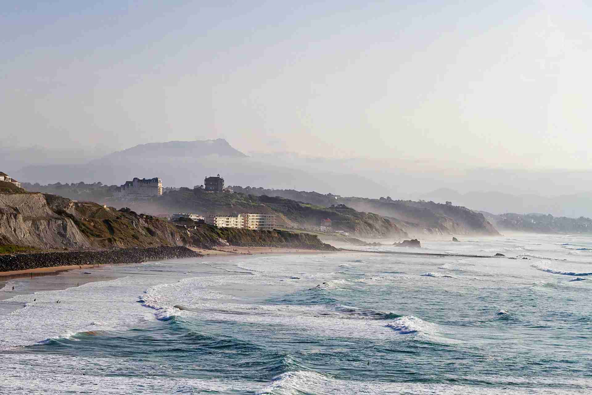 Biarritz in the south of France. (Photo by ondacaracola photography/Getty Images)