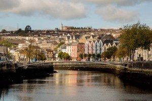 View of Cork City along the River Lee. (Photo by Dave G Kelly)