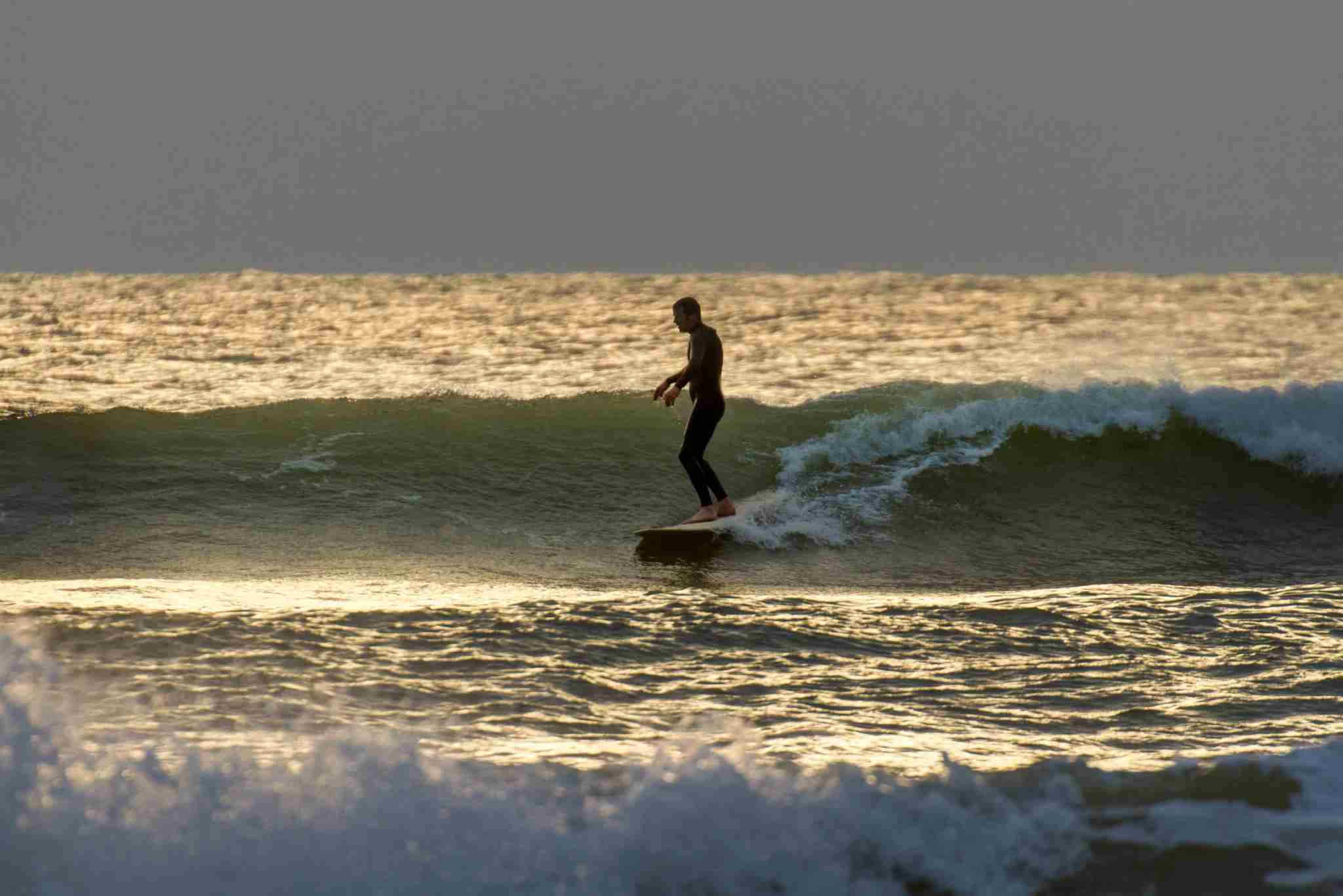 Beautiful light and fun little waves at Compton Bay on the Isle of Wight. (Photo by s0ulsurfing - Jason Swain