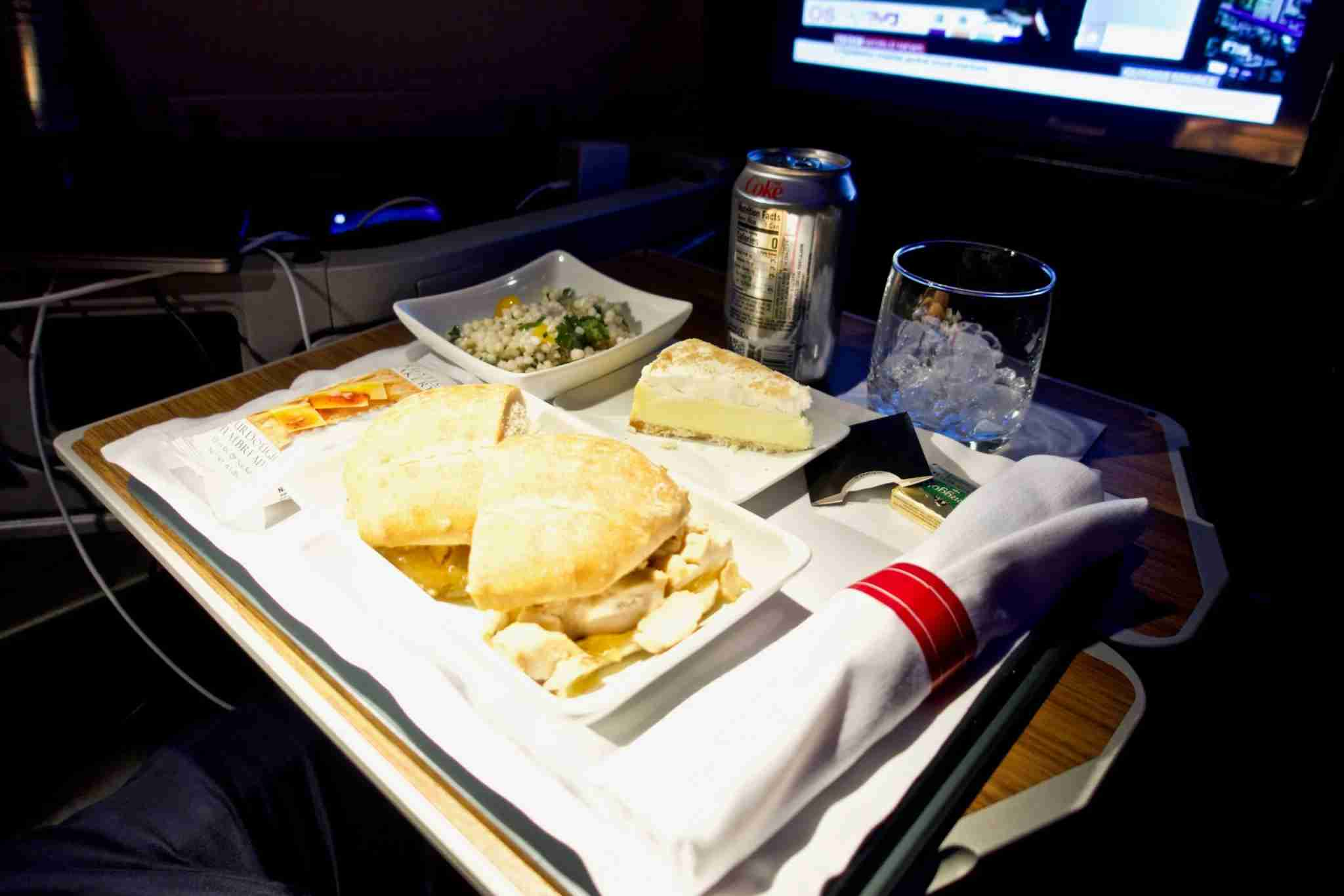 American Airlines B777-200 business class. Photo by Christian Kramer / The Points Guy