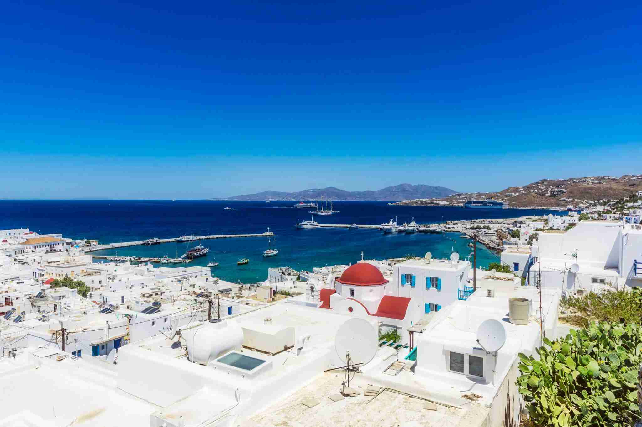 Mykonos. (Photo by Westend61/Getty Images)