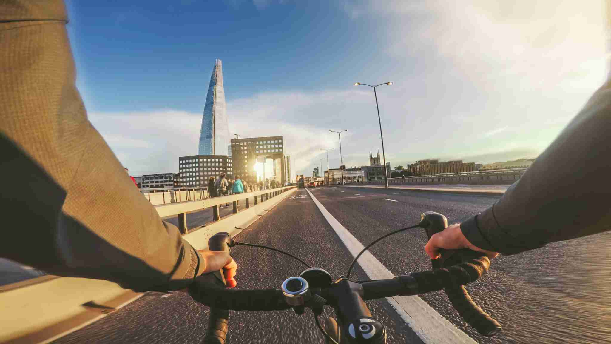 Bicycle riding in London. Photo by piola666 / Getty Images