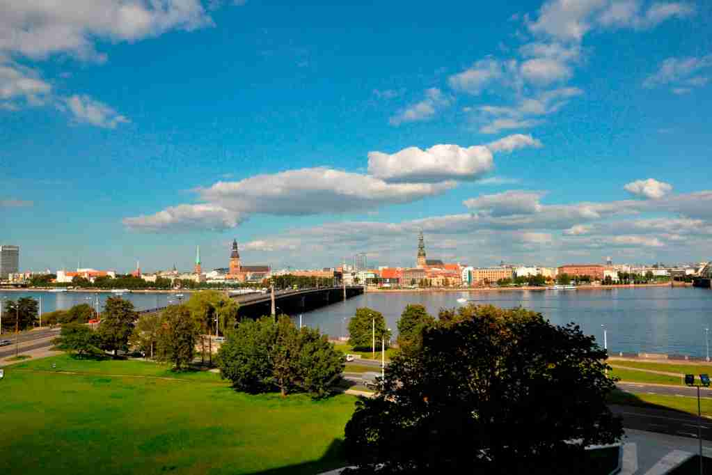 Latvia. Riga. Landscape. (Photo by: Hermes Images/AGF/Universal Images Group via Getty Images)