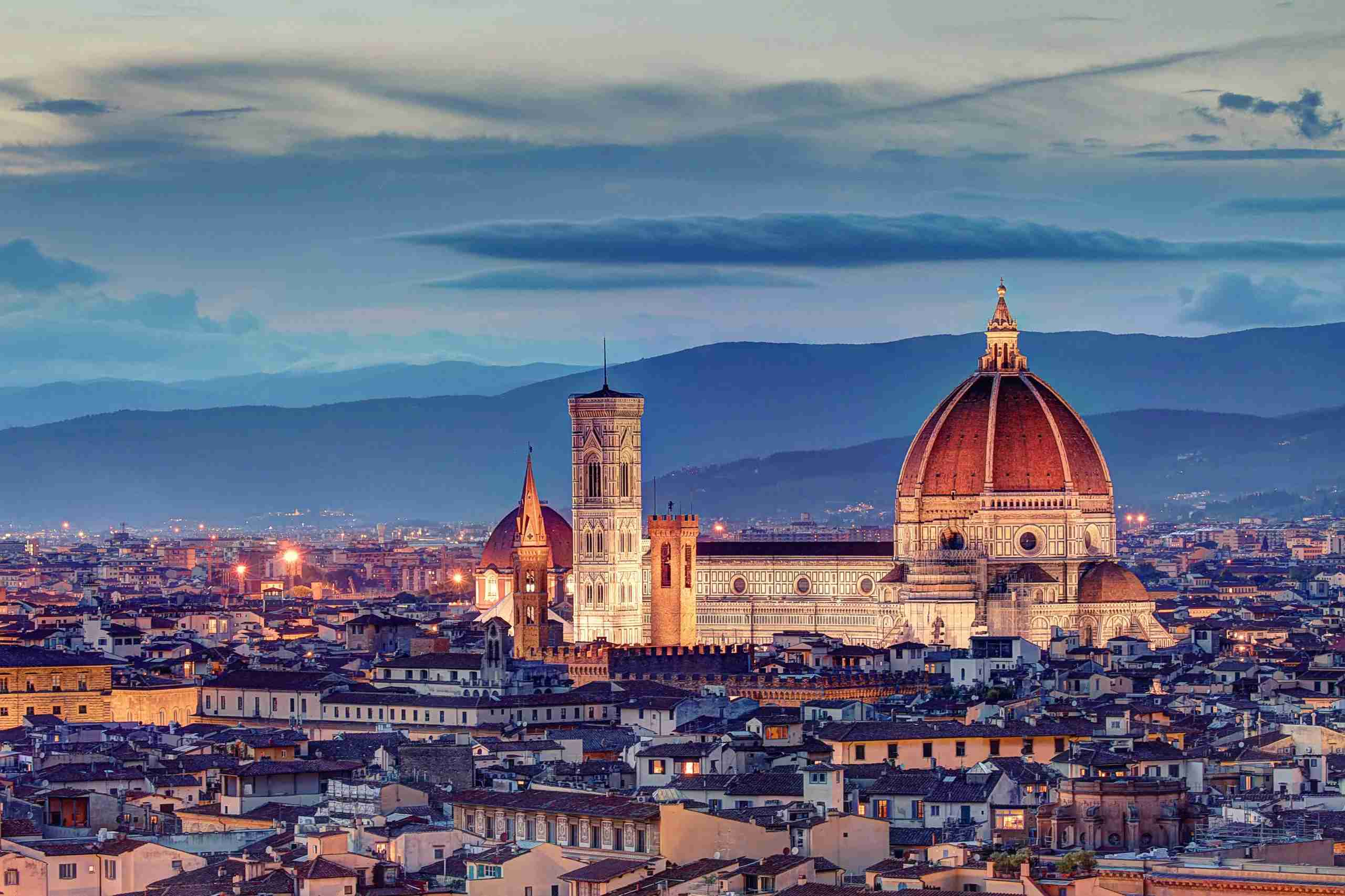 Florence. (Photo by Davide Seddio/Getty Images)
