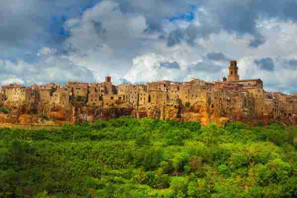 Pitigliano, Tuscany, Italy. (Photo by Peter Zelei Images/Getty)