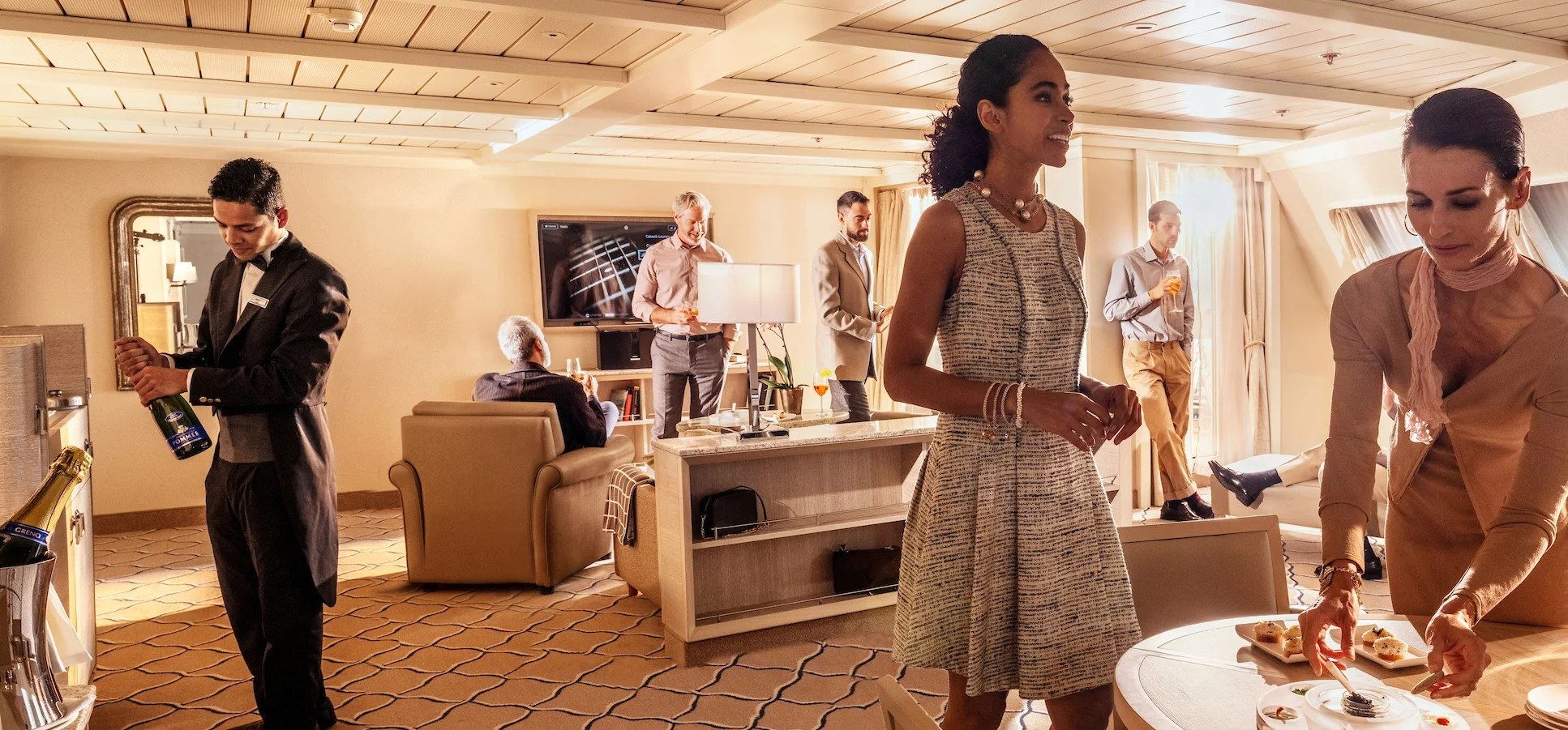 What's the difference between a cruise ship concierge and butler?