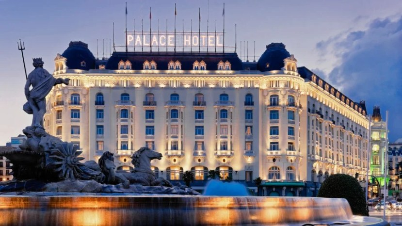 The Westin Palace Madrid.