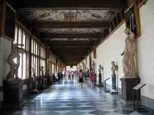 The Uffizi is one of Florence