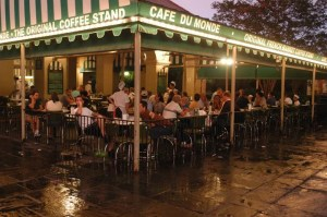 A visit to New Orleans isn't complete without stopping at Cafe Du Monde for some