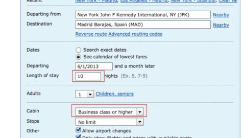 Cheap Summer Business Class Flights to Europe: JFK- London