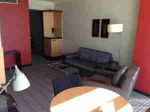 The living room of my Junior Suite.