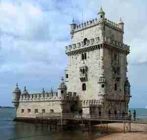 The Tower of Belem is one of Lisbon